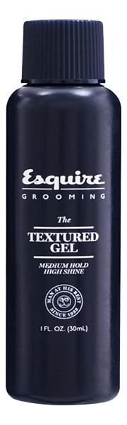 Текстурирующий гель для укладки волос Esquire The Textured Gel Medium Hold High Shine: Гель 30мл chi luxury black seed oil curl defining cream gel