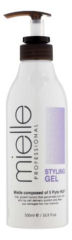Купить Гель для укладки волос сильной фиксации Natural Fix Gel 500мл, Mielle
