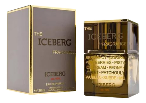 цена Iceberg The Iceberg Fragrance: парфюмерная вода 30мл онлайн в 2017 году
