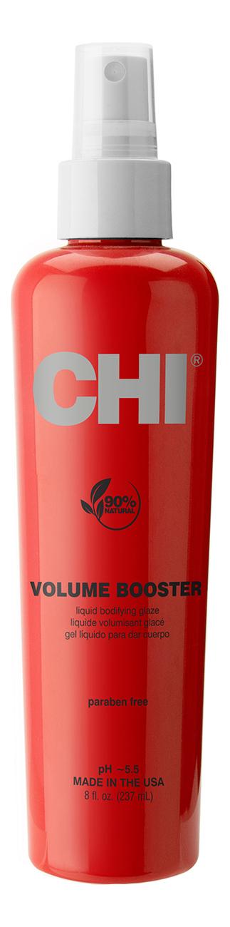 Купить Спрей для объема тонких волос Volume Booster Liquid Bodifying Glaze: Спрей 237г, CHI