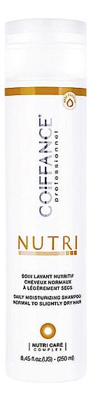Купить Бессульфатный протеиновый шампунь для волос Nutri Moisturizing Shampoo Free Sulfate 250мл, Coiffance