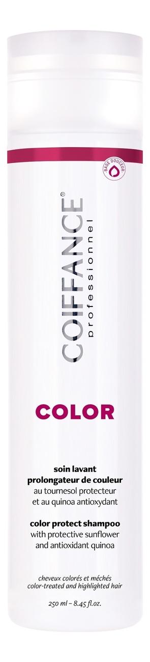 Фото - Бессульфатный шампунь для защиты цвета окрашенных волос Color Protect Shampoo Free Sulfate: Шампунь 250мл оттеночный шампунь для поддержания цвета color protect shampoo 250мл copper
