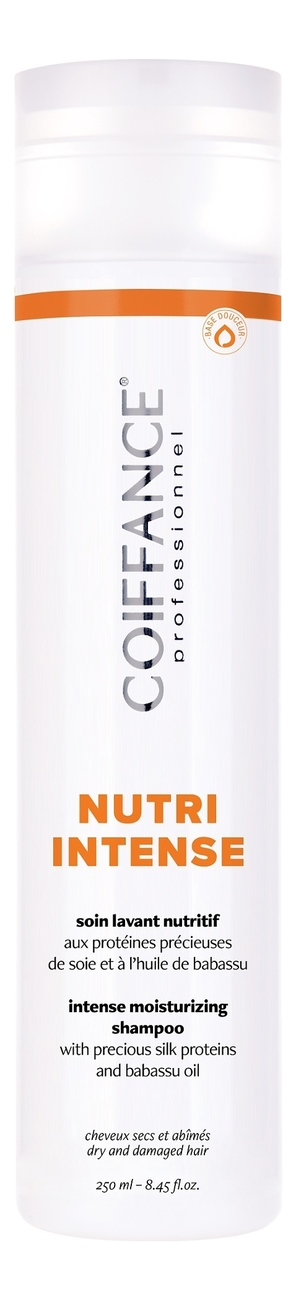 Купить Бессульфатный питательный шампунь для волос Nutri Intense Moisturizing Shampoo Free Sulfate 250мл, Coiffance