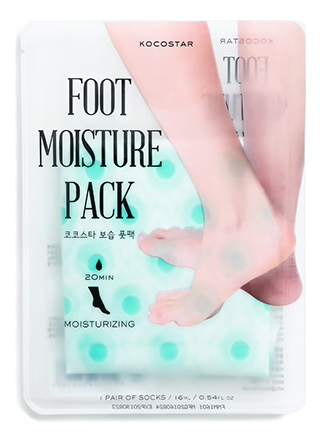 Увлажняющая маска-уход для ног Foot Moisture Pack Mint 16мл (мятная)
