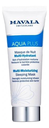 Активно увлажняющая ночная маска для лица Aqua Plus Multi-Moisturizing Sleeping Mask 75мл недорого