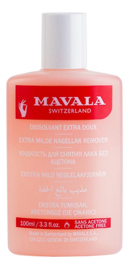 Жидкость для снятия лака Extra Mild Nail Polish Remover: Жидкость 100мл недорого