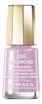 Лак для ногтей Nail Color Cream 5мл: 255 Iris Orchid лак для ногтей nail color cream 5мл 240 jasper