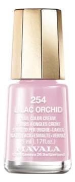 Фото - Лак для ногтей Nail Color Cream 5мл: 254 Lilac Orchid лак для ногтей nail color cream 5мл 312 poetic rose