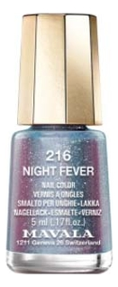 Фото - Лак для ногтей Nail Color 5мл: 216 Night Fever лак для ногтей gold effect nail polish 10 5мл 03 magical allure