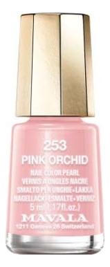 Купить Лак для ногтей Nail Color Pearl 5мл: 253 Pink Orchid, MAVALA