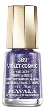 Лак для ногтей Nail Color 5мл: 389 Violet Cosmic
