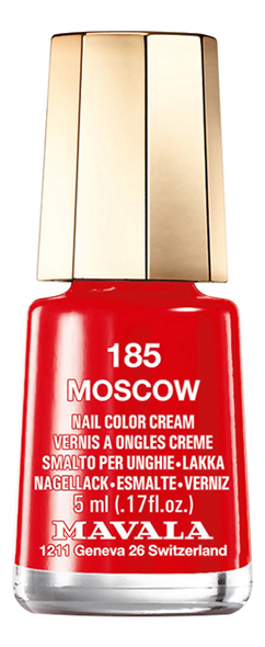 Лак для ногтей Nail Color Cream 5мл: 185 Moscow лак для ногтей nail color cream 5мл 240 jasper