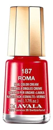 Фото - Лак для ногтей Nail Color Cream 5мл: 187 Roma лак для ногтей nail color cream 5мл 312 poetic rose
