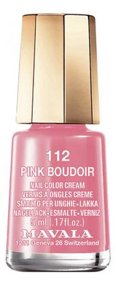 Лак для ногтей Nail Color Cream 5мл: 112 Pink Boudoir лак для ногтей nail color cream 5мл 240 jasper