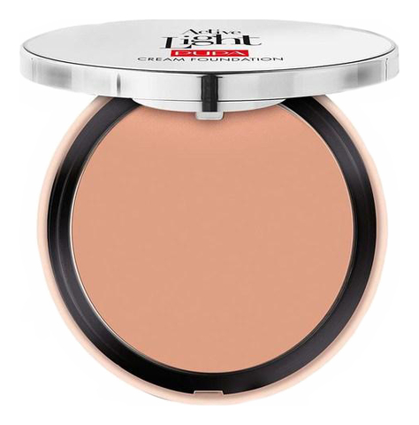 Компактная тональная основа Active Light Cream 9,5мл: 030 Natural Beige