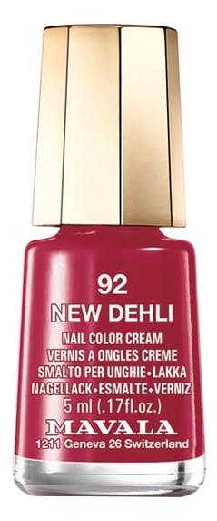 Купить Лак для ногтей Nail Color Cream 5мл: 92 New Delhi, MAVALA