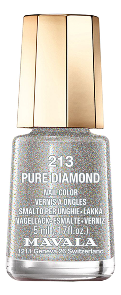 Лак для ногтей Nail Color 5мл: 213 Pure Diamond