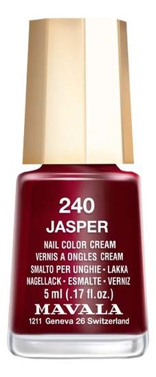 Фото - Лак для ногтей Nail Color Cream 5мл: 240 Jasper лак для ногтей nail color cream 5мл 312 poetic rose