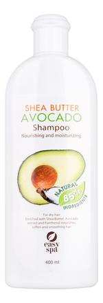 Питательный шампунь для волос Shea Butter Avocado Shampoo 400мл