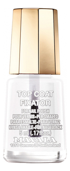 Купить Фиксатор лака для ногтей Top Coat Fixator 5мл, MAVALA