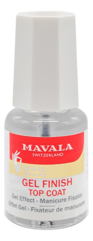 Купить Фиксатор лака для ногтей Gel Finish Top Coat 5мл, MAVALA