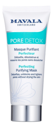 Очищающая детокс-маска для лица Pore Detox Perfecting Purifying Mask 65мл aravia очищающая маска с активированным углём purifying detox mask 150 мл