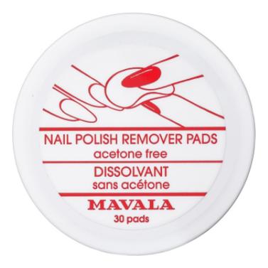 Салфетки для снятия лака Nail Polish Remover Pads 30шт