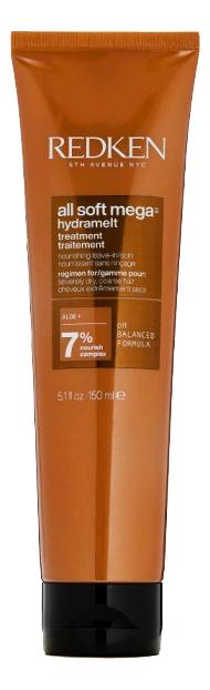Несмываемый крем для волос All Soft Mega Hydramelt Cream 150мл фото