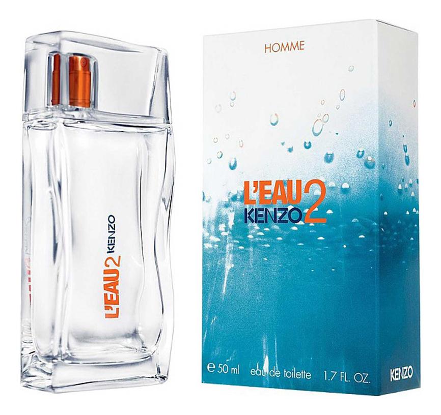Купить L'Eau 2 Pour Homme: туалетная вода 50мл, Kenzo