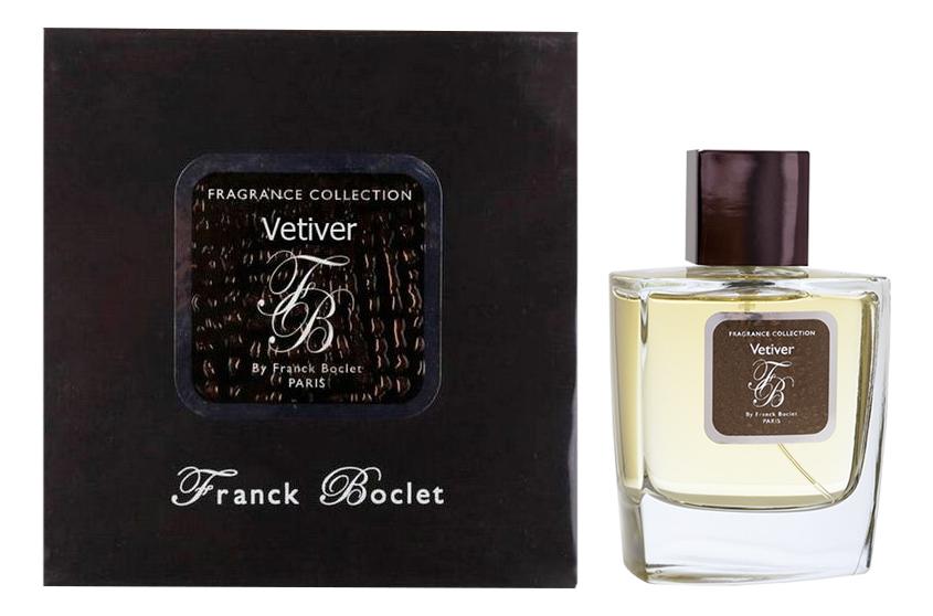 Купить Vetiver: парфюмерная вода 100мл, Franck Boclet