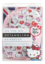 Tangle Teezer Расческа для волос Compact Styler Hello Kitty Candy Stripes