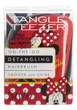 Tangle Teezer Расческа для волос Compact Styler Minnie Mouse Rosy Red