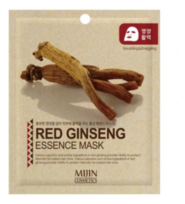 Фото - Тканевая маска для лица Красный женьшень Red Ginseng Essence Mask 25г маска д лица cosima корейский женьшень и гиалуроновая кислота 25г