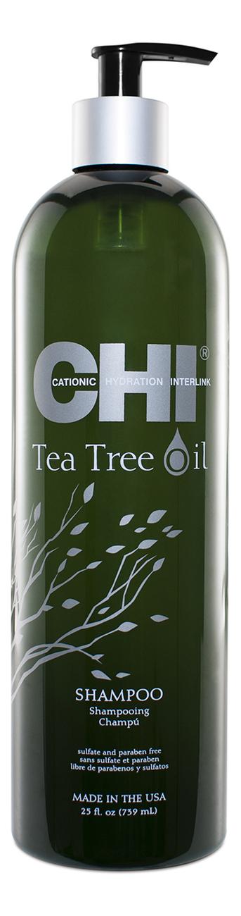 Фото - Шампунь для волос с маслом чайного дерева Tea Tree Oil Shampoo: Шампунь 739мл гель смазка sico tea tree oil с маслом чайного дерева 100 мл