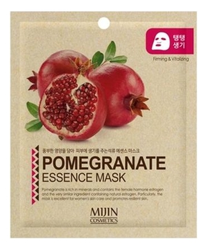Тканевая маска для лица Гранат Pomergranate Essence Mask 25г