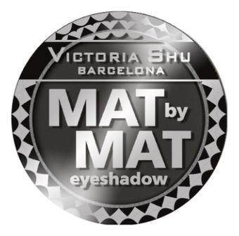 Тени для век матовые Mat By Mat Eyeshadow 1,5г: No 444