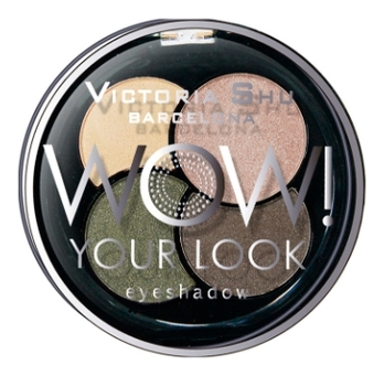 Тени для век Wow! Your Look Eyeshadow 3г: No 240 тени для век 1 seconde smokey effect eyeshadow 3г 001 black on track