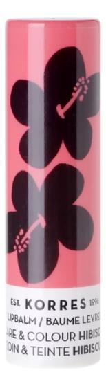 Цветной бальзам для губ Lip Balm Care & Colour Stick Hibiscus 5г (гибискус) бальзам для губ lip balm заяц с ароматом зефира 6 5г