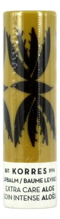 Бальзам для губ с экстрактом алоэ Lip Balm Extra Care Aloi 5мл коррес бальзамстик для губ с экстрактом мандарина бесцветный spf 15 5 мл korres korres уход за губами