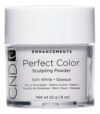 CND Пудра для ногтей Perfect Color Soft White