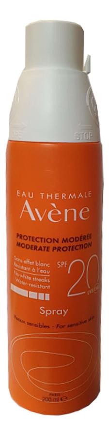 Солнцезащитный спрей для чувствительной кожи Peaux Sensibles Moderate Protection Spray SPF20 200мл