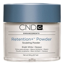 CND Пудра для ногтей Retention+ Powder Bright White Opaque