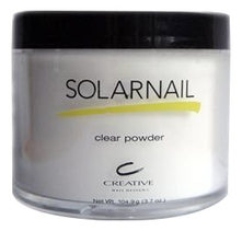 CND Пудра для ногтей Solarnail Clear Powder Creative 104г
