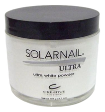 CND Пудра для ногтей Solarnail Ultra White Powder Creative