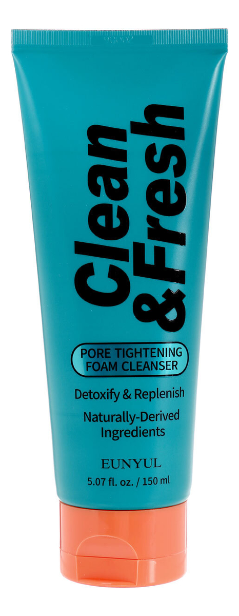 Купить Очищающая пенка для лица сужающая поры Clean & Fresh Pore Tightening Foam Cleansing 150мл, Очищающая пенка для лица сужающая поры Clean & Fresh Pore Tightening Foam Cleansing 150мл, EUNYUL