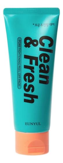 Маска-пленка для лица сужающая поры Clean & Fresh Pore Tightening Peel Off Pack 120мл маска на основе белой глины pore tightening clay pack 100мл