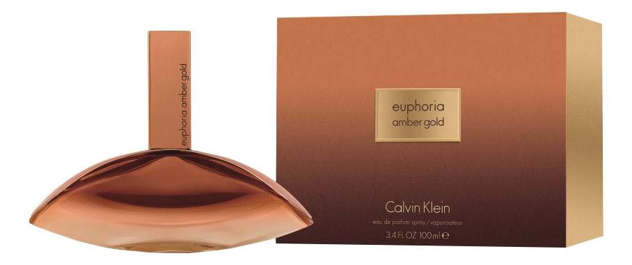 Купить Euphoria Amber Gold: парфюмерная вода 100мл, Calvin Klein