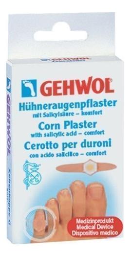 Купить Мозольный пластырь с салициловой кислотой Huhneraugen-Pflaster Mit Salicylsaure 8шт, Gehwol