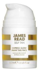 Фото - Экспресс-маска для лица автозагар Self Tan Express Glow Mask Tan Face 50мл масло для автозагара james read self tan coconut dry tan body 100 мл
