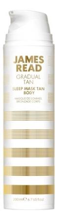 Купить Ночная маска для тела Gradual Tan Sleep Mask Tan Body: Маска 200мл, James Read